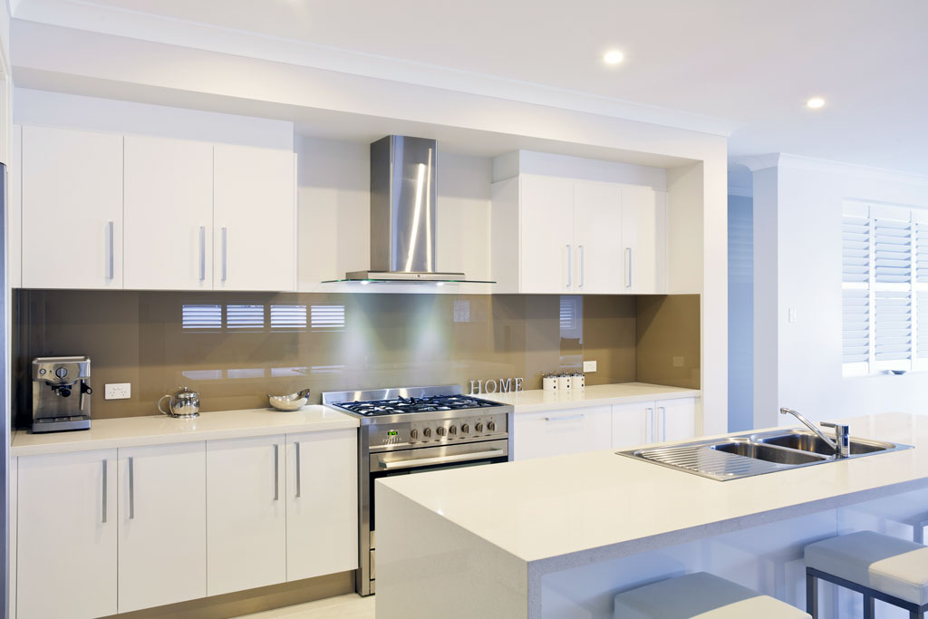 White Kitchen Splashback exellent white kitchen splashback make your more glamorous on